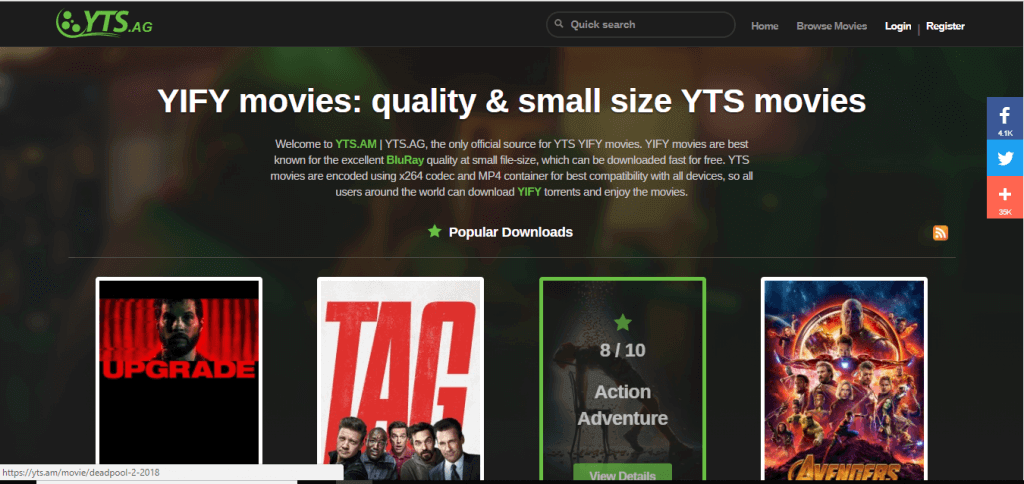 25+ Free movies Download Sites list 2019 (Verified) - Etechfolks
